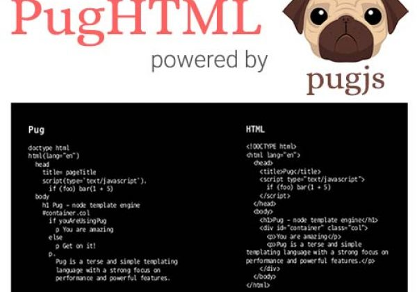 Convert Pug to HTML